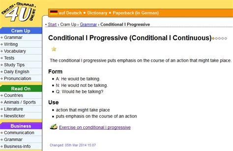 conditional progressive english guideorg