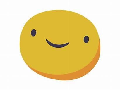 Emoji Happy Icon Dribbble Copy Flat Animation