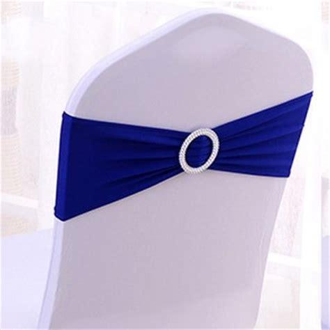 noeud de chaise mariage noeud de chaise mariage en lycra bleu roi un jour spécial