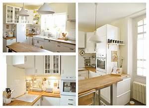 Cuisine Blanche Et Bois Ikea : cuisine ikea bois blanc ~ Dailycaller-alerts.com Idées de Décoration