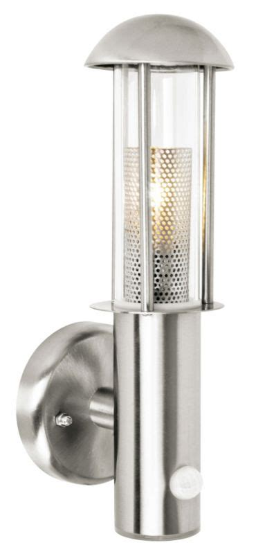 blooma arundell outdoor wall light with pir in wall light