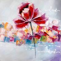 Blumen Gemälde In öl : blumengem lde von martin klein flower power l acryl ~ A.2002-acura-tl-radio.info Haus und Dekorationen