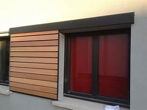 Volet Persienne Pvc Prix : volets bois coulissants ~ Premium-room.com Idées de Décoration