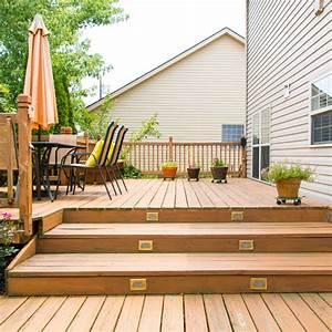 Escalier Terrasse Bois : comment construire un escalier de terrasse en bois ~ Nature-et-papiers.com Idées de Décoration