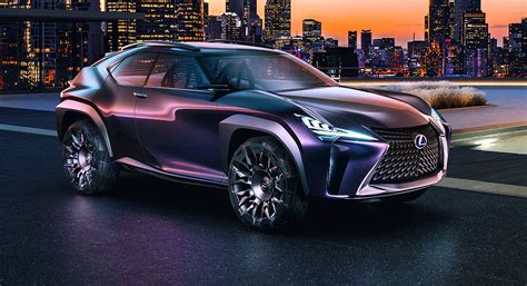 Lexus UX concept reveals compact SUV plans in Paris ...