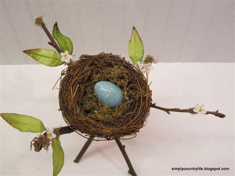Handmade Rustic Spring Nest Decor