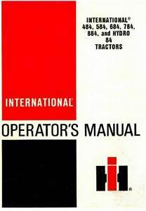 International 784 Service Manual