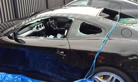 1,200 Ferrari Supercar Destroyed By Man With Axe