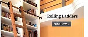 rolling library ladder for closet Roselawnlutheran