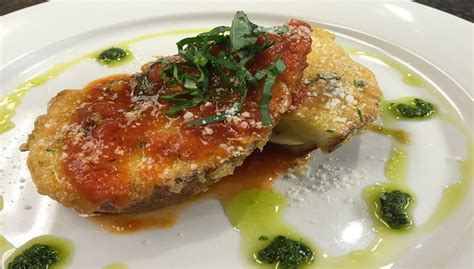 Leons Cafe and Catering   In the Kitchen: Baked Mozzarella