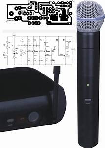 Wireless Uhf Microphone Schema Layout