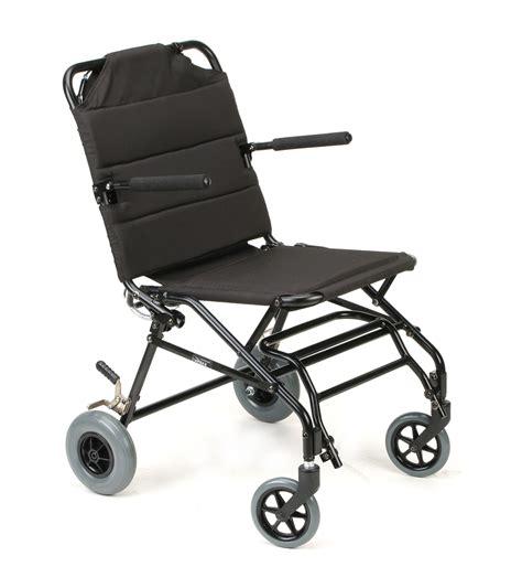 karman km tv10b portable travel transport wheelchair