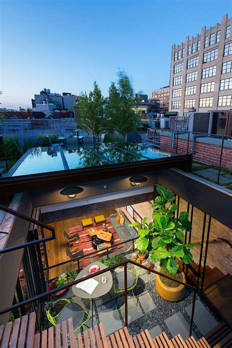 An 1884 Former Caviar Warehouse Loft In Tribeca by A Modern Tribeca Loft From A Converted Caviar Warehouse