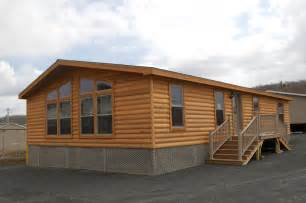 Double Wide Log Mobile Home Interior
