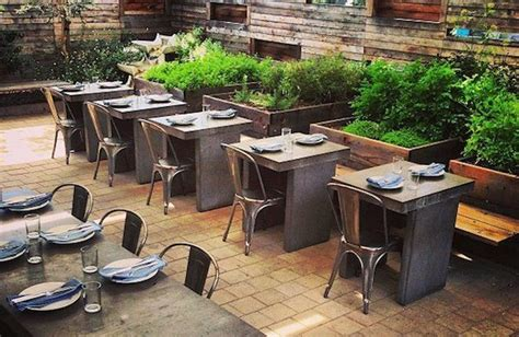 The stylish coffee shop's south park location offers plenty of space to sit back with a cuppa; outdoor restaurant seating fireplace - Google Search   Restaurant patio, Restaurants outdoor ...