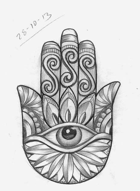 simple hamsa design tattoo google search tattoo ideas tattoo sketches tattoos hamsa tattoo