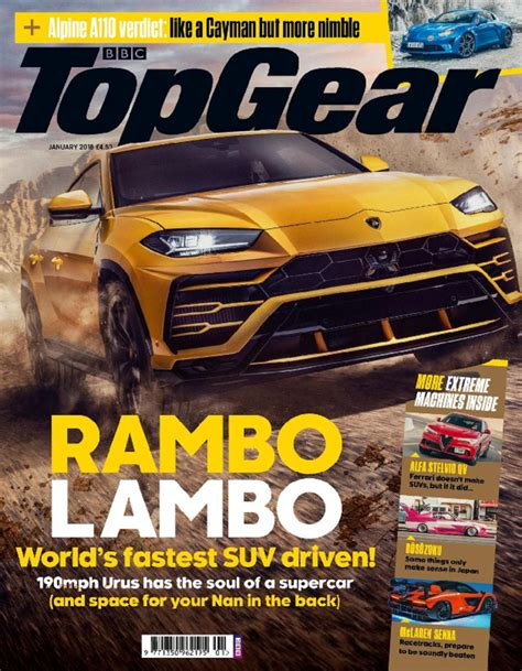 Buy Bbc Top Gear Magazine Subscription  Buy At Magazine