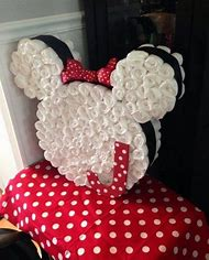 Mickey/Minnie Mouse diaper cake