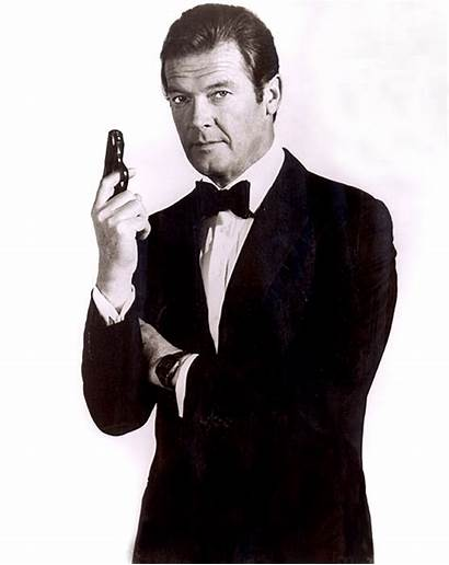 Roger Moore Tribute Bond James Celebrities Actor