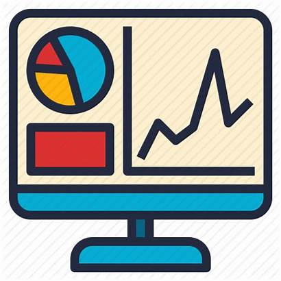 Icon Visualization Software Computer Business Report Graph