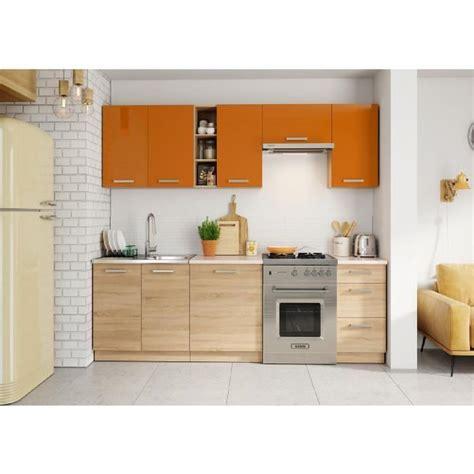 cuisine achat cuisine cdiscount cuisine complète avec plan de travail