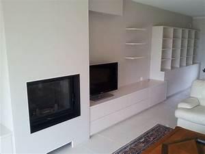 meubles sur mesure agencement vannes With meubles tv sur mesure