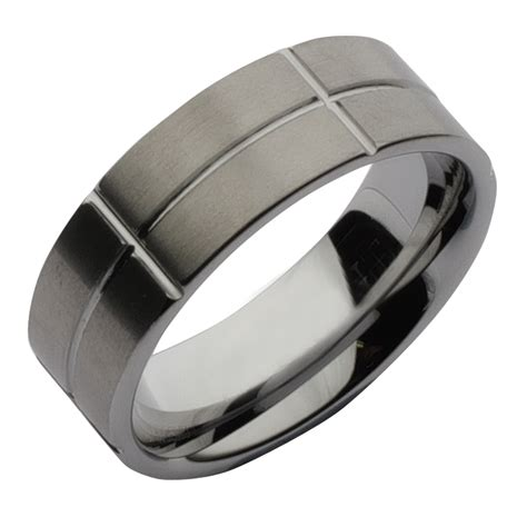 sale 8mm tungsten designed wedding ring band clearance at elma uk jewellery