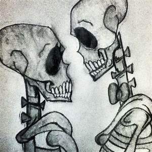 Skeleton Love Drawing - BeAsYouAre © 2016 - Jan 18, 2013
