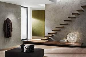 Moderne Wandgestaltung Bad : raumgestaltung mit metalloptik ~ Sanjose-hotels-ca.com Haus und Dekorationen