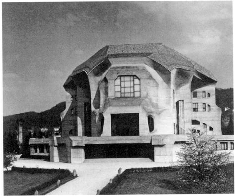 Rudolf Steiner Architektur by Rudolf Steiner S Second Goetheanum Photo Gallery