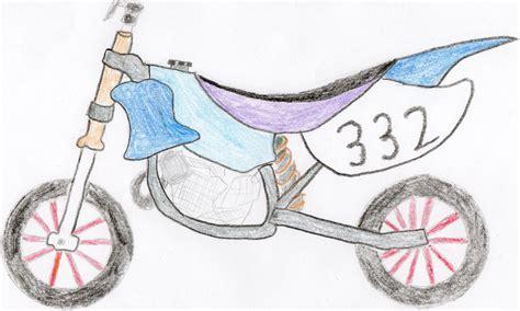 how to draw a motocross bike simple dirt bike drawing www pixshark com images