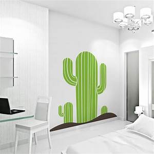 Cactus Wall Decal Sticker