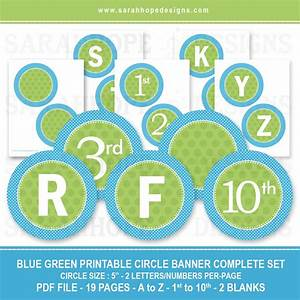 6 best images of free printable banner blue free With letters for birthday banner