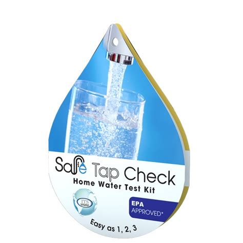 safe test safe tap check home water test kit 487940 sale 6 99