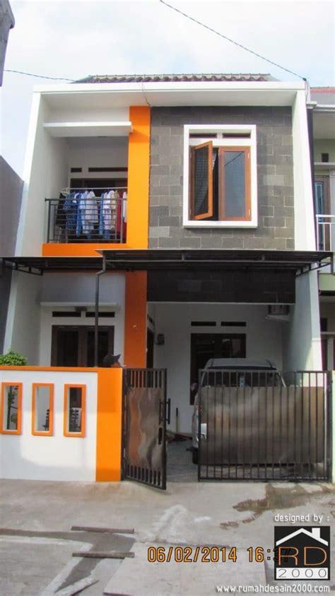 denah rumah ukuran  desain denah rumah modern desain