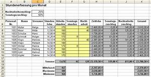 Lohn Berechnen Netto : business wissen management security gehaltsabrechnung tabelle ~ Themetempest.com Abrechnung