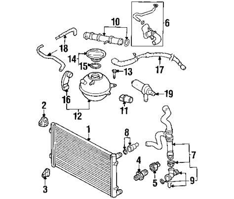 parts 174 volkswagen hose partnumber 1j0122051r