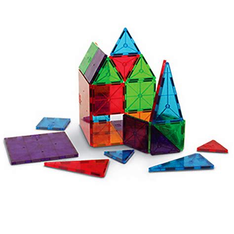 magna tiles clear 100 magna tiles clear colors 100 pc set smart toys