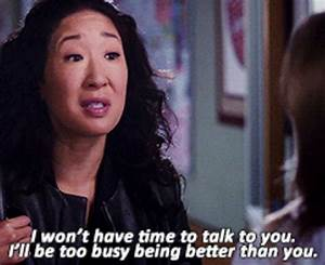 If Cristina Yan... Cristina Yang Cookie Quotes