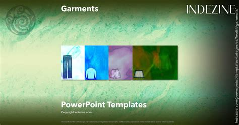 garments powerpoint templates