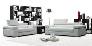 Contemporary Sofas Furniture by Soho Leather Sofa Set