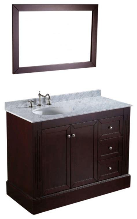 45 single sink bathroom vanity bosconi sb 255 45 quot contemporary single vanity