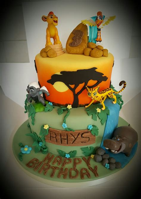 Lion Guard  Birthday Ideas)  Pinterest Lions
