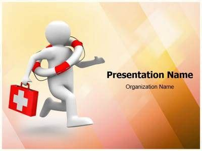 life saving doctor powerpoint  template