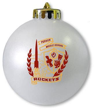 middle school christmas ornament
