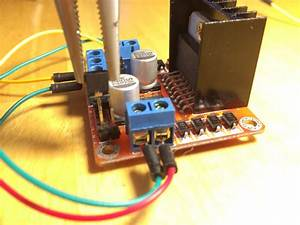 Arduino Wemos With L298n Controller And 28byj
