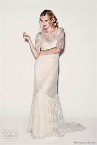 delphine manivet wedding dresses spring 2012 wedding With lace overlay top for wedding dress