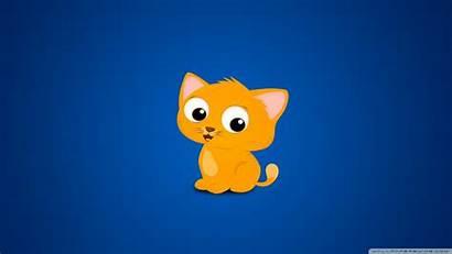 Animated Cat Desktop Cartoon Kitten Cartoons Wallpapersafari