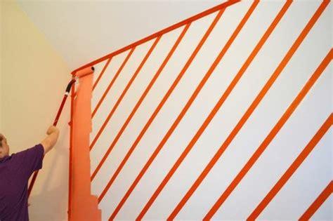 Wand Mit Streifen Gestalten by Geometrische Formen Tolle Wandgestaltung Mit Farbe