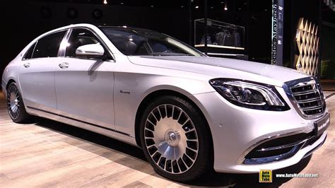 2018 Mercedes Maybach S560 4matic  Exterior And Interior